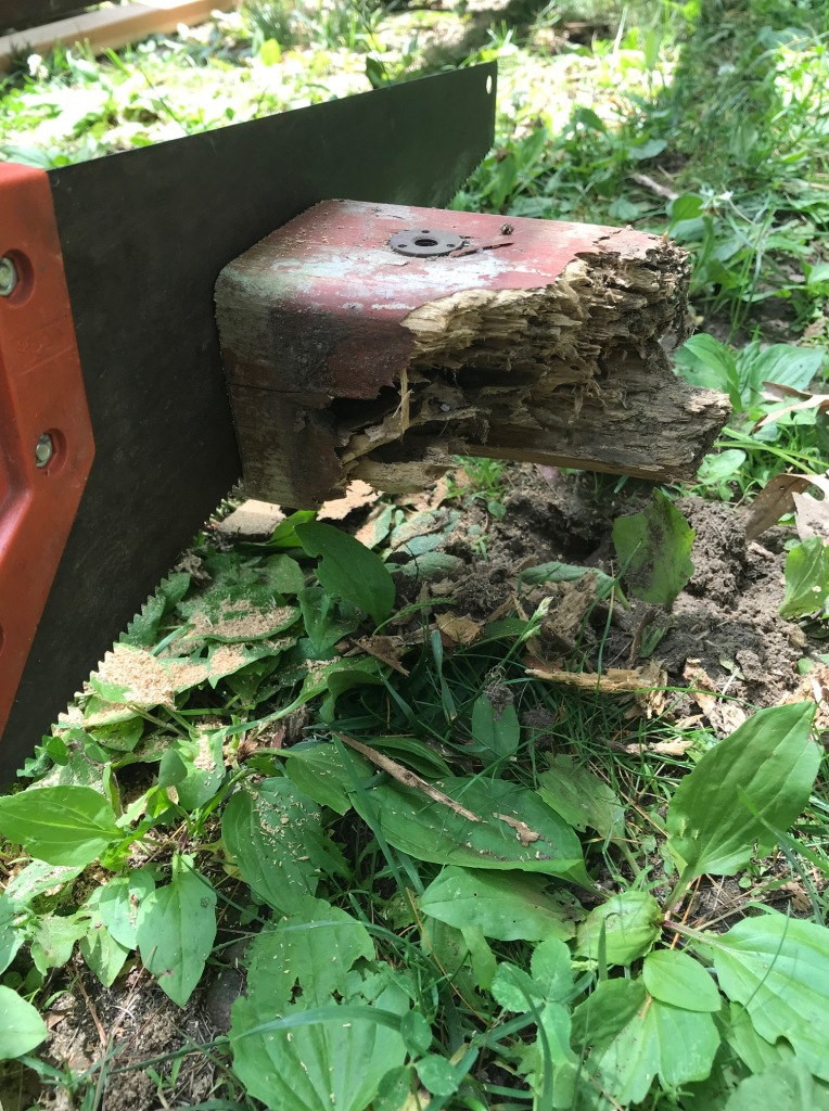 rotted 4X4